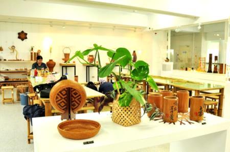 2F竹藝工坊-竹編、竹雕生活器物