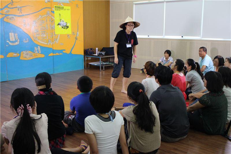 博物館出走:學校百寶箱行動種子營系列I唐山過臺灣講師演示