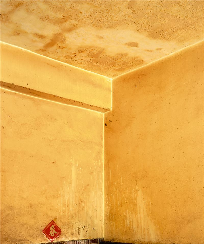 CHEN Po-I〈The Strata (No.154, Haishan 1st Rd., Hongmaogang, Kaohsiung City - Wu Cheng Zan's house-II)〉2007 UV Inkjet C - print on A.C.P. 146×122 cm