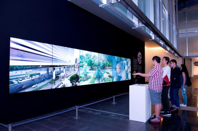 國美館「龍祈澔:當下與過往交融的共時性 2018」展場