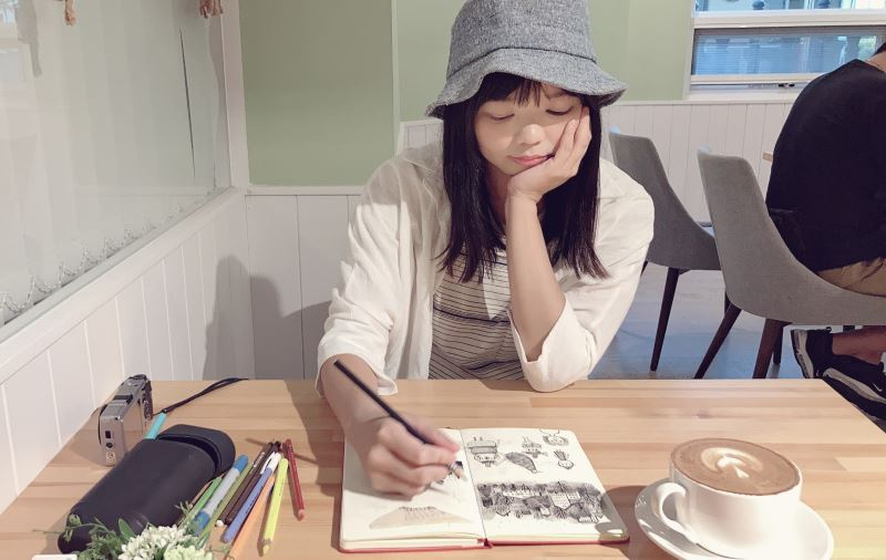 Taiwanese illustrator Lin Lian-en