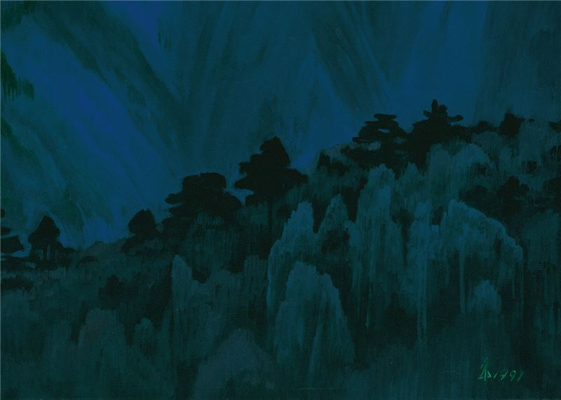 Lin Hsin-yueh〈Valley〉Detail