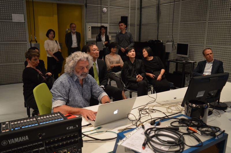 參觀IRCAM聲音實驗室
