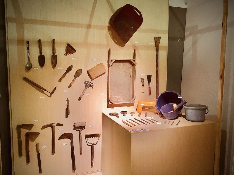 「Blihun漢本-交通樞紐上的國定考古遺址特展」考古工具區