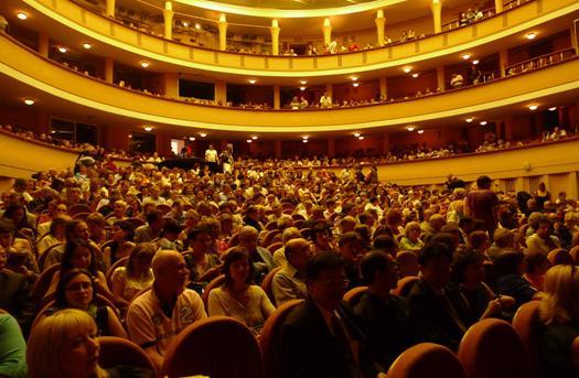 2009契科夫國際劇場藝術節演出觀眾進場實況