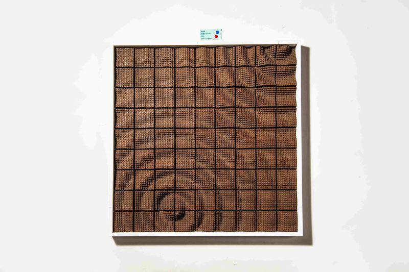 創新設計組三等獎-參數造型面磚-築房數位設計