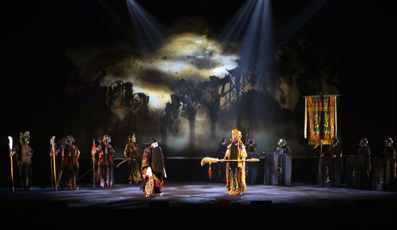 《閻羅夢——天地一秀才》舞台影像設計。