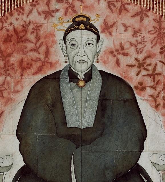 彭賢祥〈童婆太〉局部圖
