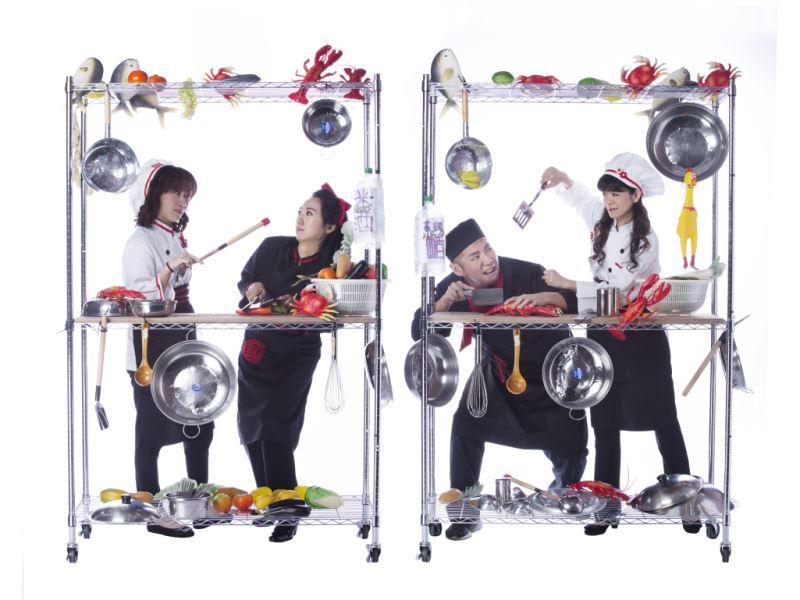 圖10:臺灣國樂團的演奏家們將用節奏與觀眾互動,營造出鍋碗瓢盆齊飛、熱火朝天的料理場景。