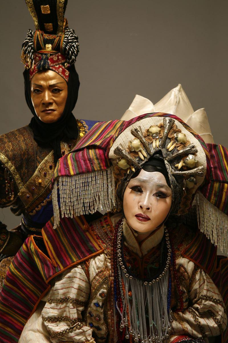 《樓蘭女》也是吳興國代表作之一。