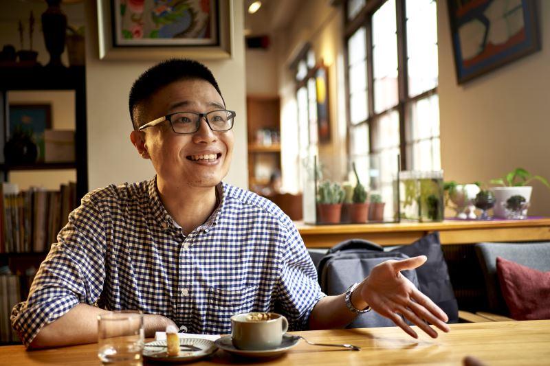 陳健星從生活當中汲取素材,寫出引起眾人共鳴的故事。