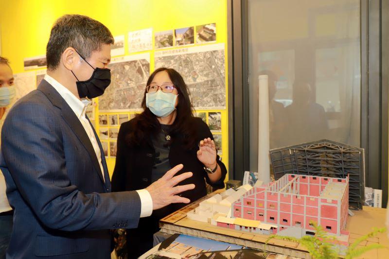 文化部長李永得視察新竹「再造歷史現場」計畫執行進度