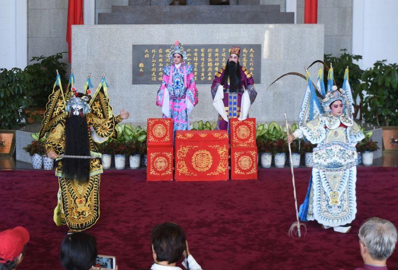 漢陽北管劇團演出戰洛陽橋段