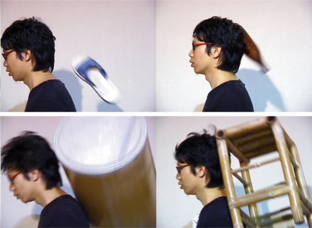 崔廣宇〈十八銅人,穿透,感受性〉局部圖