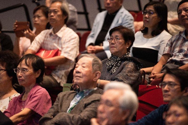 臺灣珍貴音樂文物捐贈記者會觀禮嘉賓