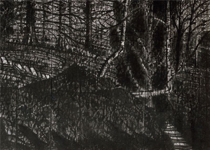 Guo Hsueh-hu〈Solitude〉Detail