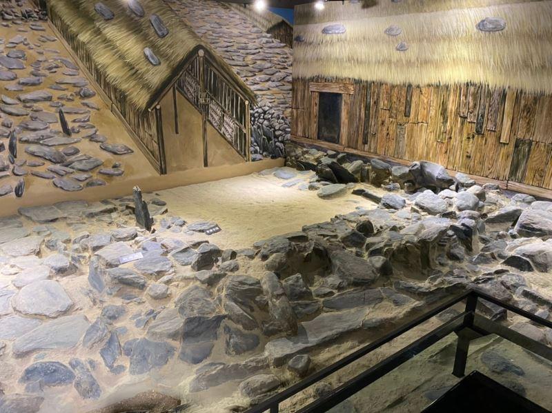 國定Blihun漢本考古遺址真實比例家域模型