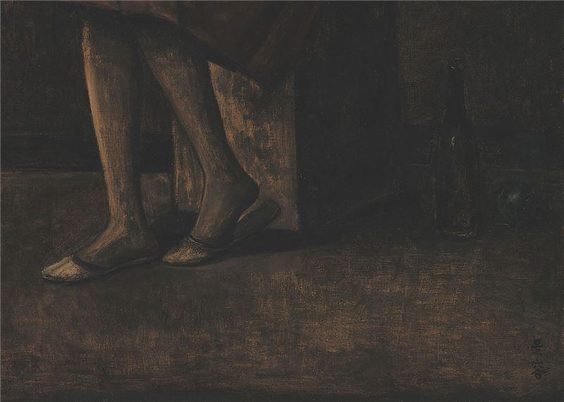 Chen Jing-rong〈Nighttime Contemplation〉Detail