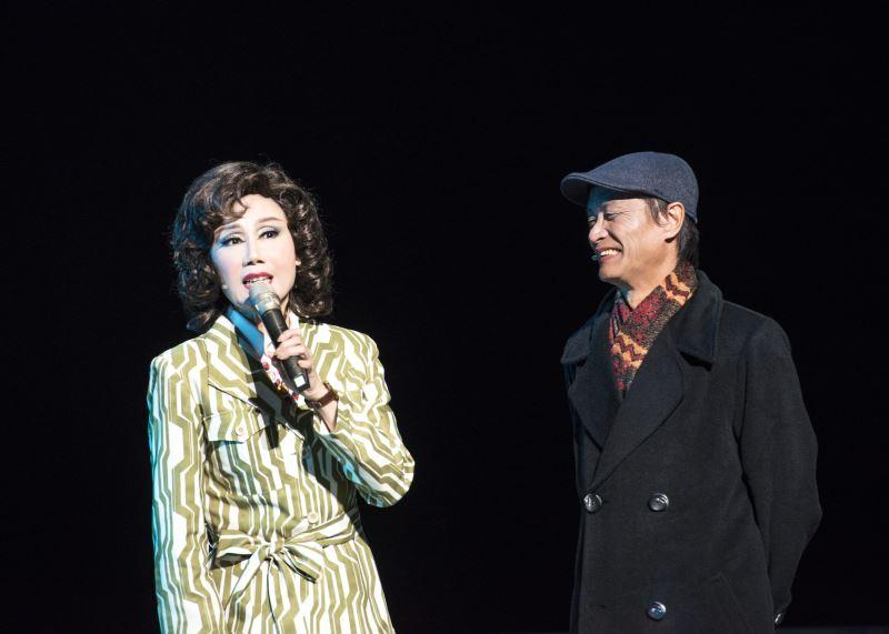 領銜主演春美歌劇團團長郭春美與金枝演社藝術總監王榮裕導演分享演出《雨中戲臺》的心情