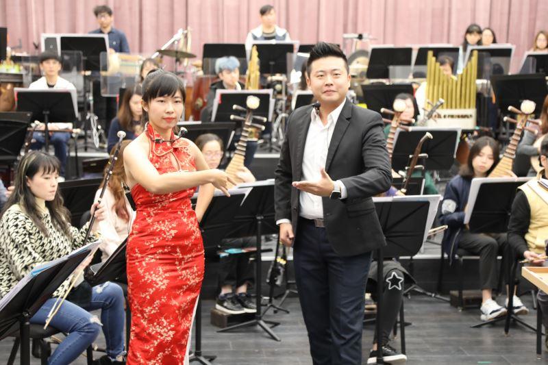 《鍾馗嫁妹》由年輕優秀的北管藝術家胡毓昇、楊晴儀擔綱演唱。