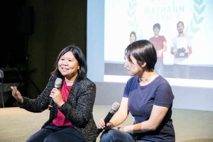 Director-curator Thu Thu Shein (Myanmar).