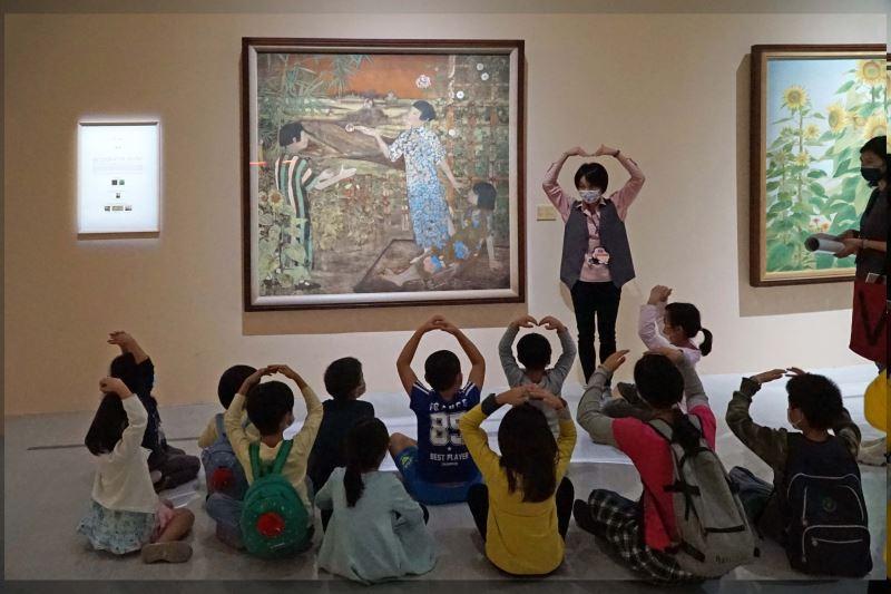國美館克服疫情持續推動展覽與活動,提升服務能量