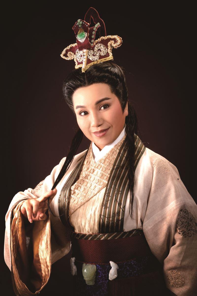 Taiwanese opera actress Tang Mei-yun.