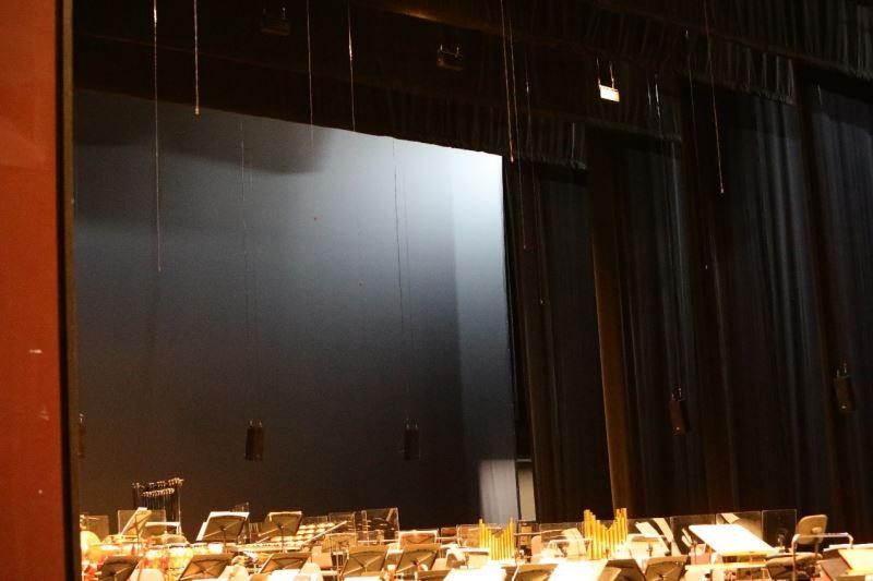 圖5:主動式聲學系統有助於兼顧作品的聲響狀態及舞台區的氣體流動。