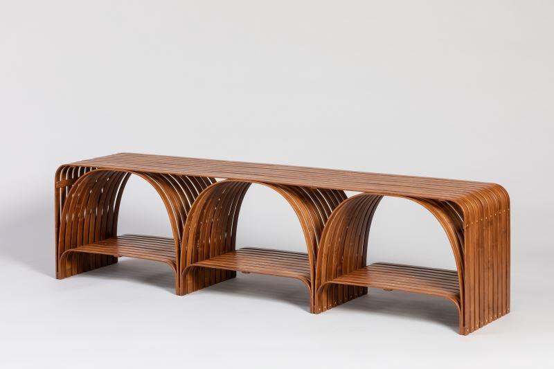 Bridge Bamboo Bench 竹凳