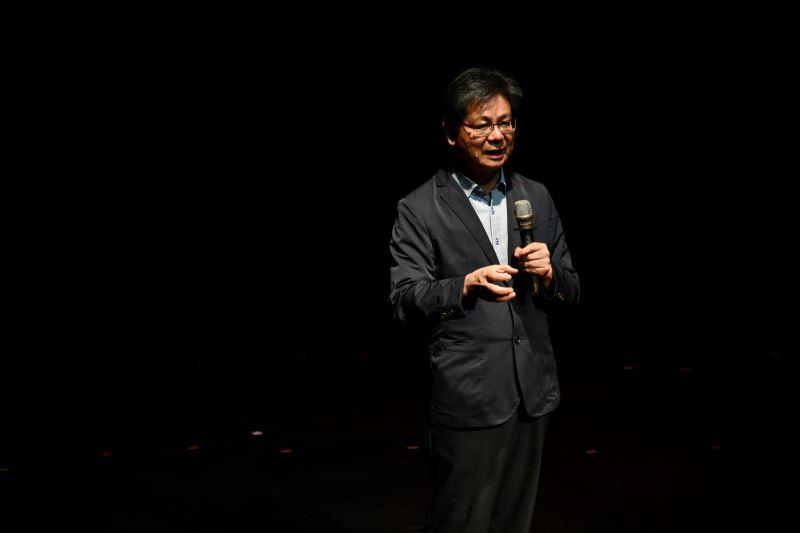 本次藝術節專業導聆人-臺北藝術大學吳榮順教授致詞3