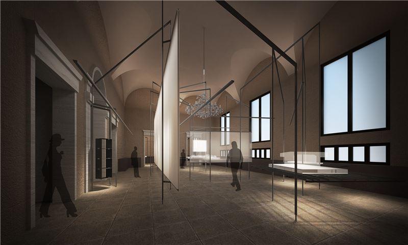 2018「第16屆威尼斯建築雙年展-台灣館」展場模擬圖