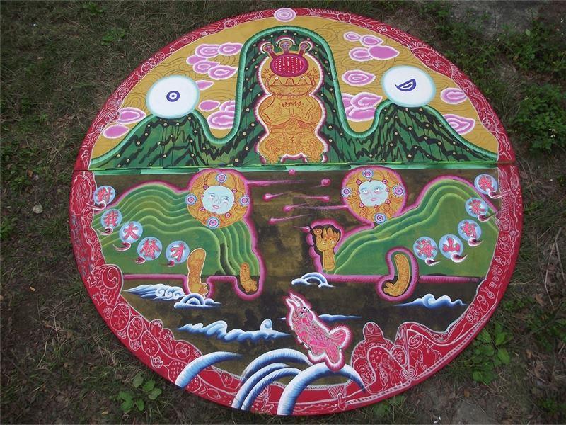 LI Jiun-Yang〈Fairest Fairies Fair, Phû-lōng-kòng Blossom〉Detail