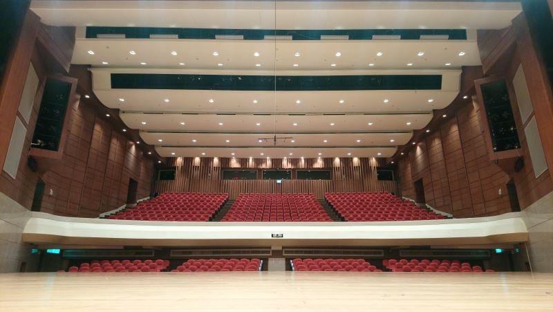 演奏廳觀眾席