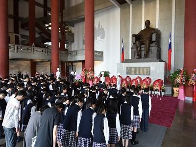 "March 12, Dr. Sun Yat-sen's 96th Death Anniversary, ""Pay Tribute to Dr. Sun Yat-sen""."