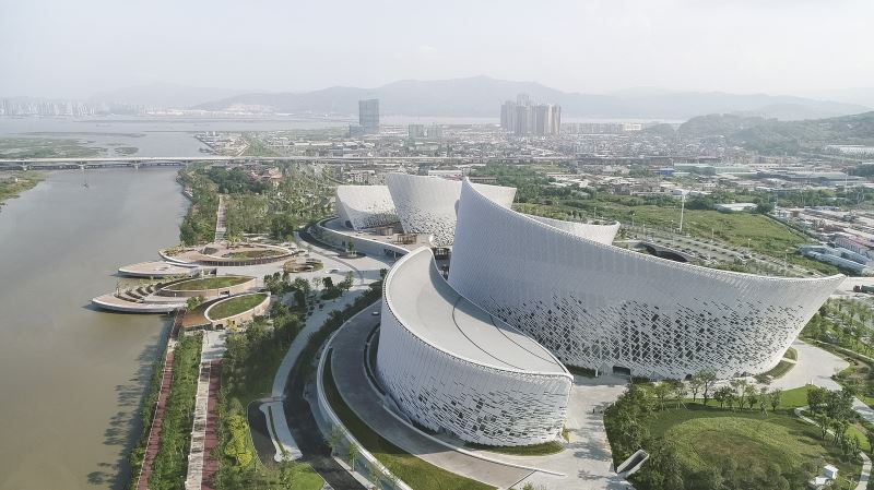 Fuzhou Strait Culture and Art Centre.
