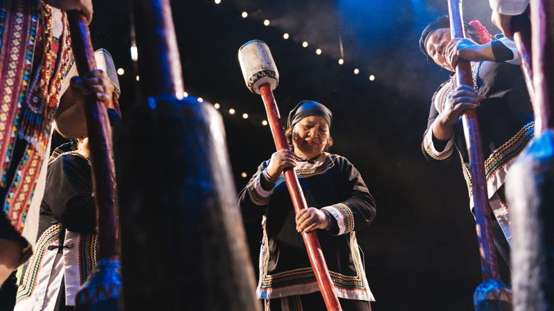 圖2:南投縣信義鄉布農文化協會是文化部指定的布農族音樂保存團體。