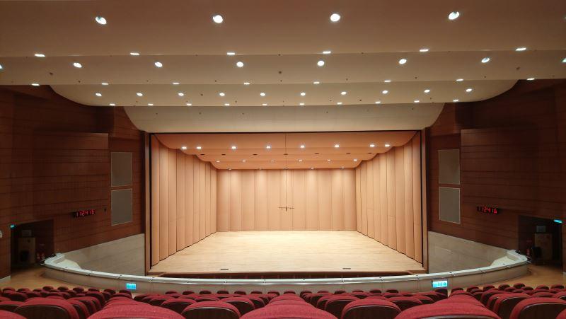 演奏廳舞台