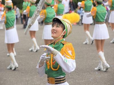紀念國父誕辰154週年「多元共榮_E起愛」系列活動北一女中樂儀旗隊表演-1