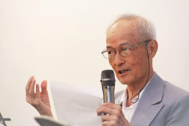 周賢農前輩講述自己青春繫獄獲淬鍊的人生,並感念啟蒙導師黎子松先生