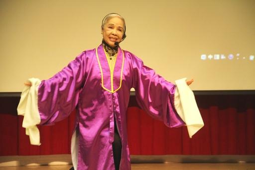Taiwanese opera actress Liao Chiung-chih