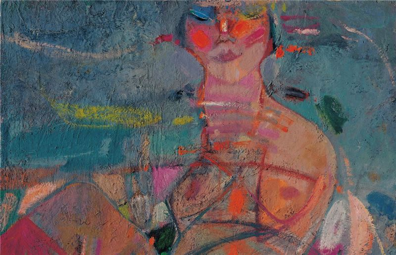 HUANG Ming-je〈Woman〉Detail