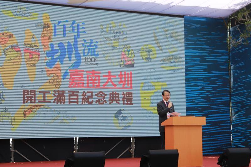 日本台灣交流協會代表泉裕泰致詞