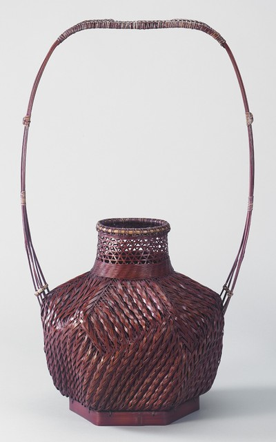 Arrow Patterned Basket_Huang Tu-Shan