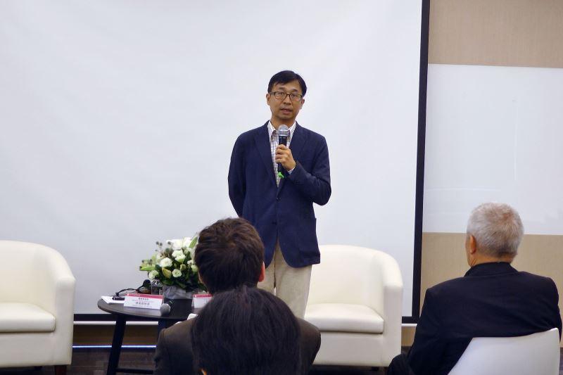 陳俊宏館長開場介紹與會來賓