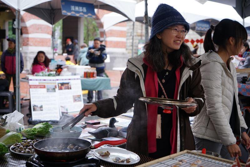 2永續年菜博覽會提供經產銷認証的食材