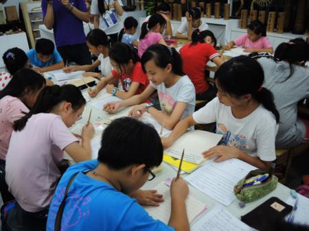 2015兒童工藝夏令營-自製竹筆書寫家書