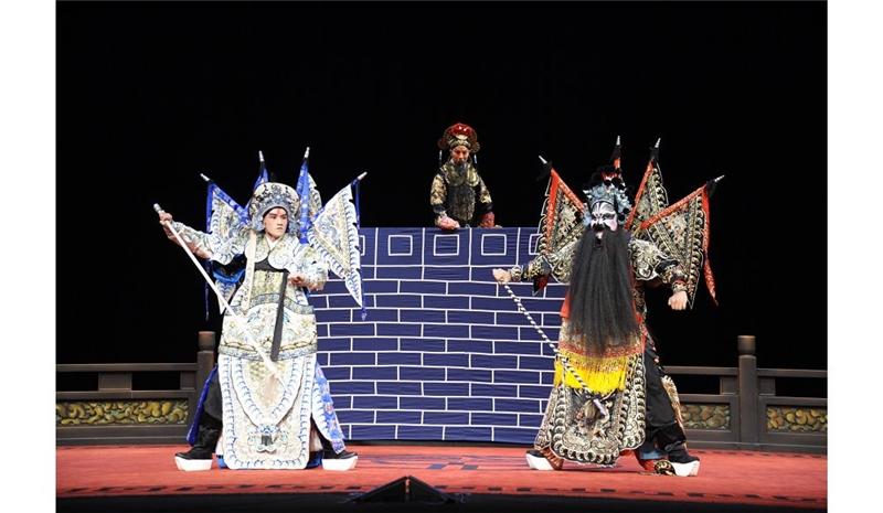 《兩將軍》由國光青年武生黃鈞威及青年淨角高禎男主演
