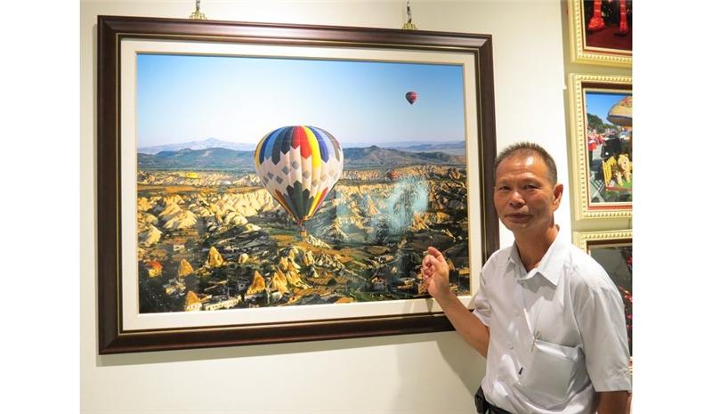 乘熱氣球拍攝-土耳其葛瑞美谷地