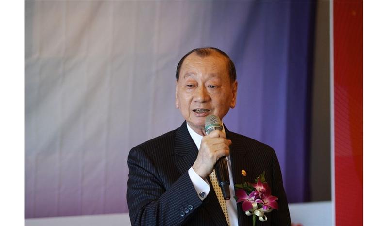 商總理事長張平沼致詞