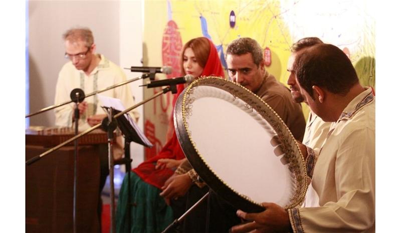 伊朗薩巴民族樂團演奏